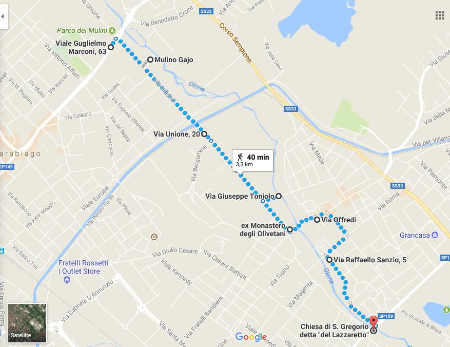 Percorso dell'Olona: scopri la storia del famoso fiume lombardo [6,5 Km]