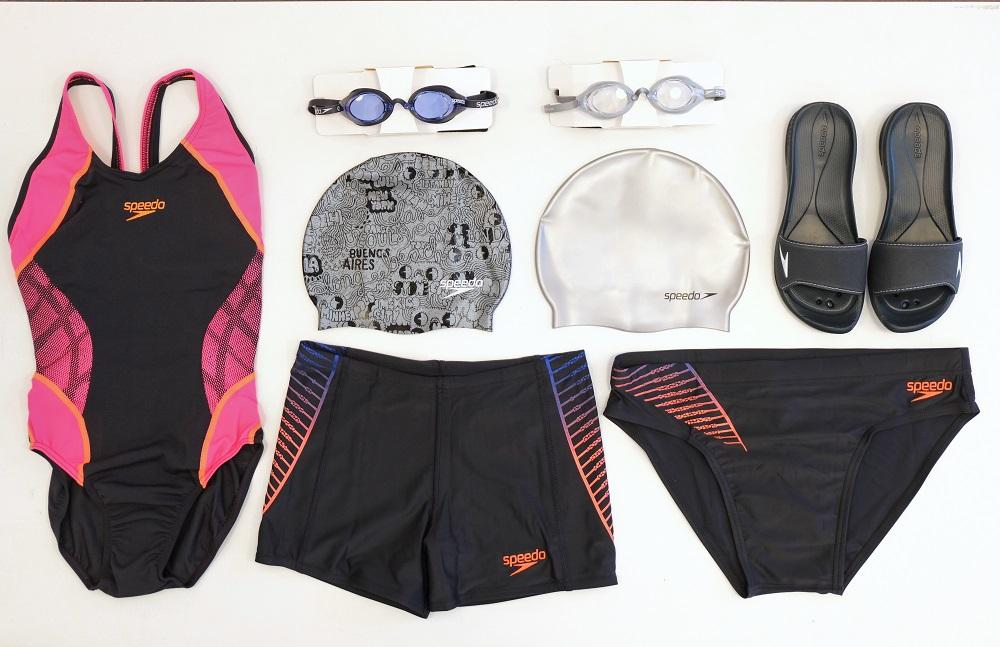 Abbigiamento nuoto, costumi, cuffie, occhialini e ciabatte da piscina Speedo